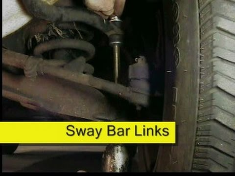 Sway Bar Link Replacement DIY, How To  YouTube