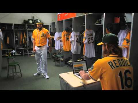 Coco Crisp and Josh Reddick take numbers seriously