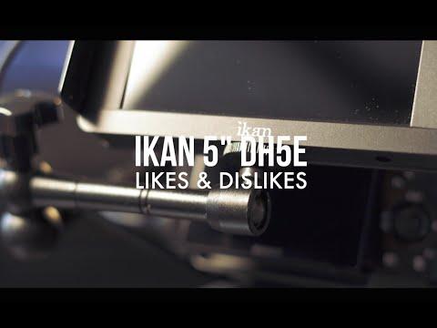 iKan 5inch 4k Touchscreen Monitor