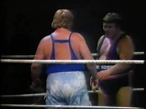 Catchen/Wrestling Otto Wanz vs Sailor White (Moondog King) Graz 11.07.81 T1