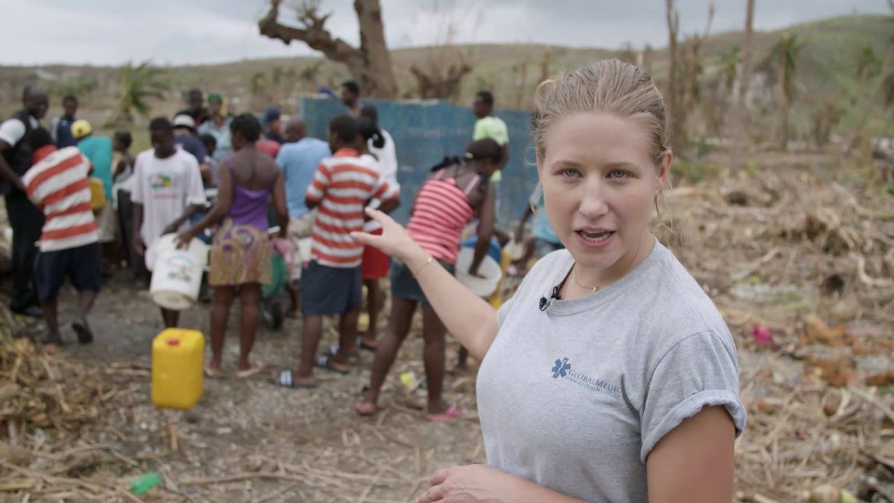Providing safe drinking water in Haiti after Hurricane Matthew