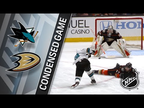 01/21/18 Condensed Game: Sharks @ Ducks