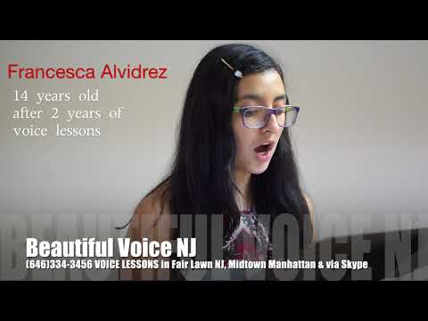 Voice lessons, singing teacher   new jersey