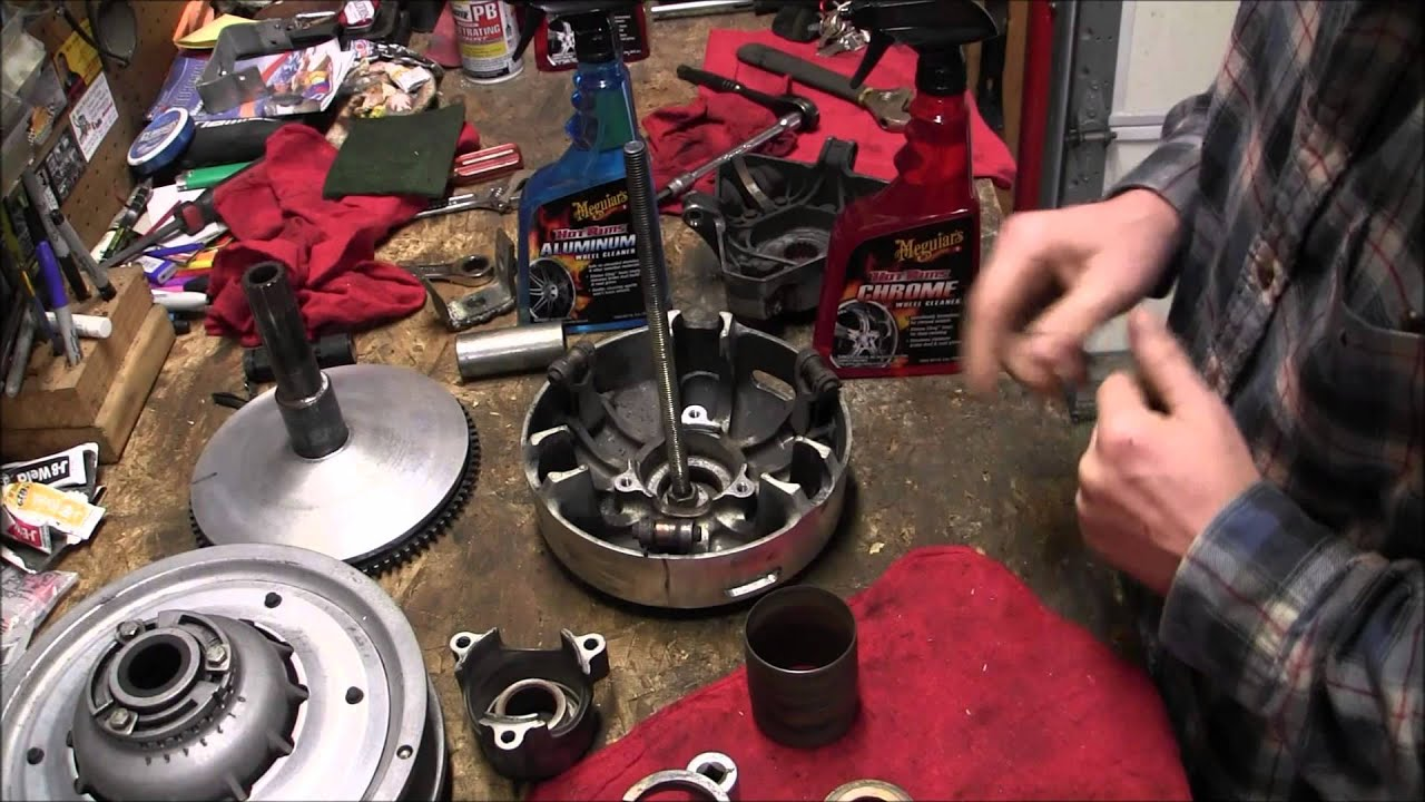 Skidoo Rev 800 Primary Clutch Clean And Repairs Episode 4