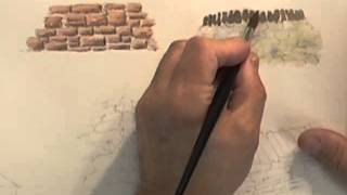 Watercolour Building Lesson - Stone Built Buildings