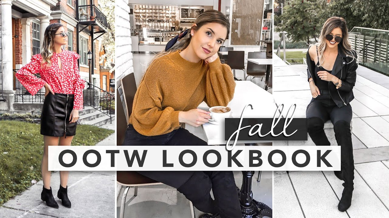 [VIDEO] - Simple & Minimal Fall OOTW Lookbook | Erin Elizabeth 1