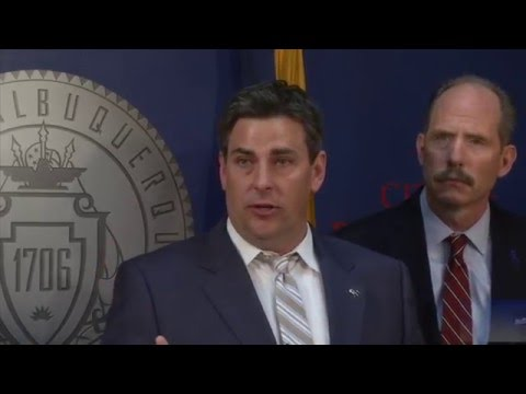 Mayor Richard J. Berry, City of Albuquerque  News Conference  5-3-16