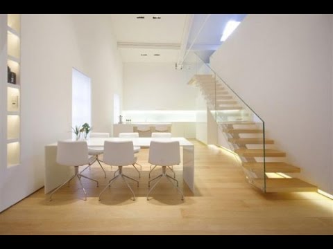 Modern duplex apartment camouflaged interior design youtube for Interior design for duplex living room