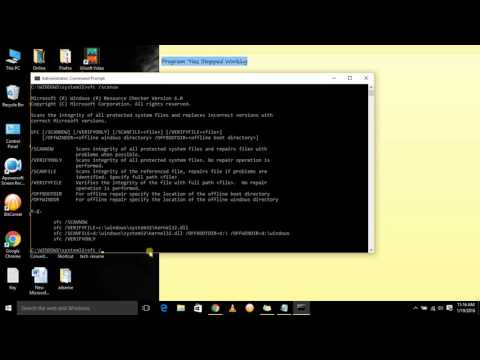 Program Has Stopped Working   Windows 10, windows 7 and windows 8