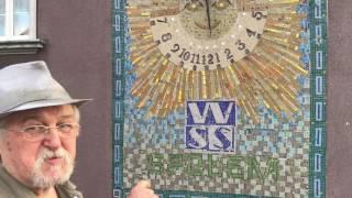 Renowacja mozaiki w Raciborzu