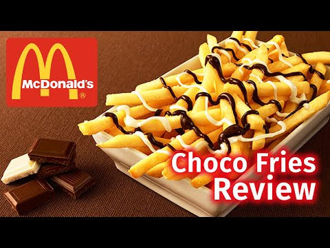 McDonald's Chocolate Fries Are Actually Super Delicious
