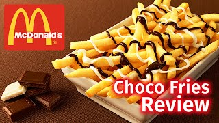 McDonald's Chocolate Fries Review | Japan Exclusive