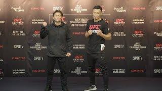 UFC Пусан: Стердауны