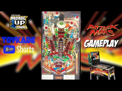 Arcade1Up Attack From Mars Gameplay - #Shorts from ToyKade