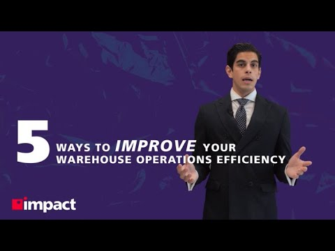 5 Ways to Improve Your Warehouse Operations Efficiency