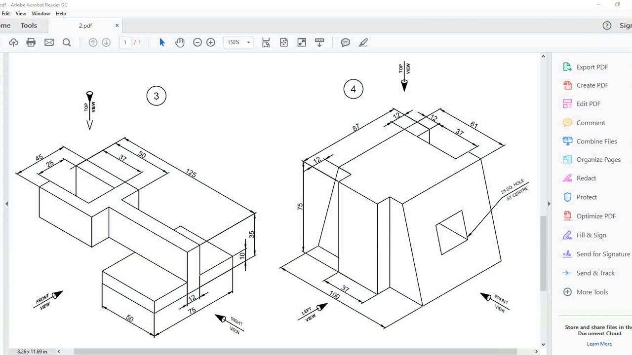 CATIA | Part Design |Exercise 5