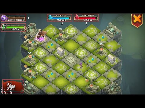 Castle Clash Lost Realm Gameplay Best Heroes?