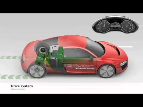 Audi R8 e-tron - Animation | AutoMotoTV