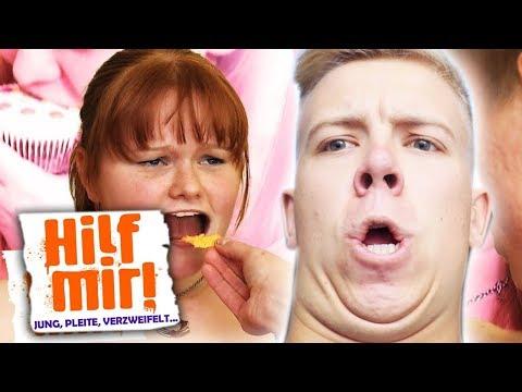 Hilf Mir! Nicht LACHEN CHALLENGE!! (YouTube Kacke Edition)