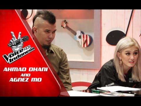 Ahmad Dhani and Agnez Mo for The Voice Kids Indonesia GlobalTV 2016