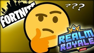 Fortnite vs Realm Royale - WHICH ONE IS BETTER??