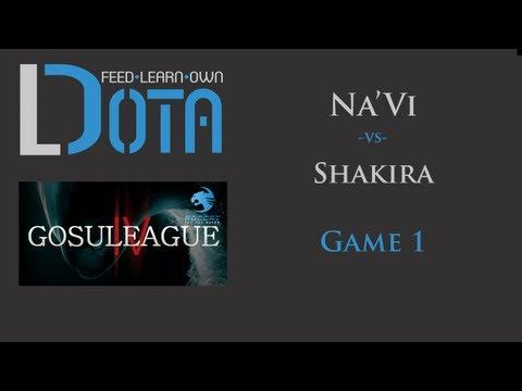 Shakira vs Na`Vi GosuLeague - Game 1