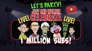 Let's Party! Jeff and Walter celebrate 1 Million Subscribers | JEFF DUNHAM thumbnail