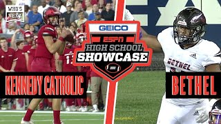 Bethel (WA) vs. Kennedy Catholic (WA) High School Football - ESPN Broadcast Highlights