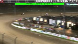 7.18.15 Kings Royal XXXII: Feature highlights plus Steve Kinser flip clip