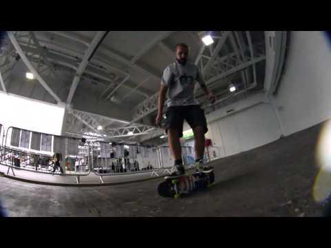 The London Edge Freestyle Skateboard Demo Part 1