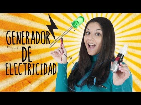 Cómo Hacer Un Generador De Energía Eléctrica Manual (Experimentos Caseros) thumbnail