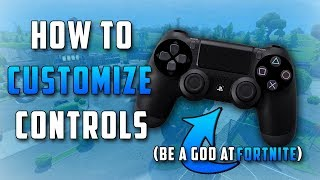 How To Customize Button Assignments On PS4! (Get Better At Fortnite)