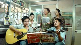 lớp học guitar - thanh nhạc - lớp nhạc hạ trắng