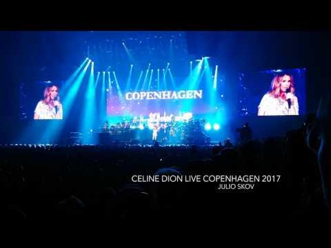Celine dion Céline Dion talking with audience  Royal Arena Copenhagen Live   2017-06-15