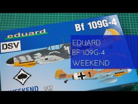 Models Eduard 1/48 Messerschmitt Bf-109G-4 Weekend Edition # K84149