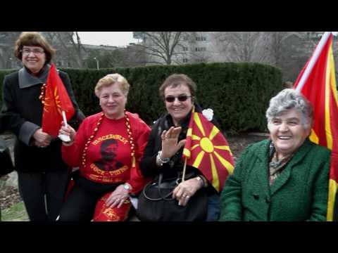 United Macedonia rally at Queen's Park, Toronto, April 2, 20