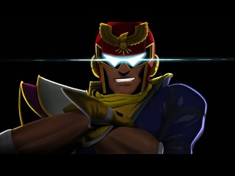 What if Captain Falcon vs Ganondorf was an anime?