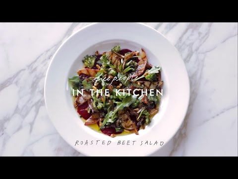 Beet Salad Recipe | In The Kitchen | Free People