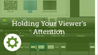 Tips: Holding Your Viewer's Attention During Screencasts