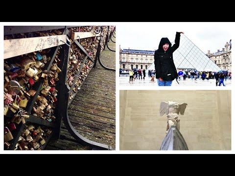 Paris Day 4 The Louvre, Pont des Arts, Best Food In Latin Quarter | MORE SEREIN