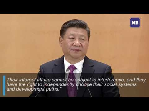 Xi calls for world without nuclear weapons