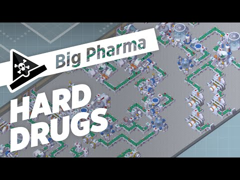 HARD DRUGS  - ep 3 - Let's Play Big Pharma Marketing & Malpractice Gameplay