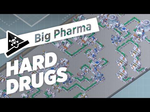 HARD DRUGS  - ep 3 - Let's Play Big Pharma Marketing & Malpractice Gameplay