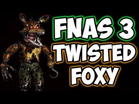 FNAS 3 CUSTOM NIGHT - TWISTED FOXY MODE | FIVE NIGHTS AT SONIC'S 3