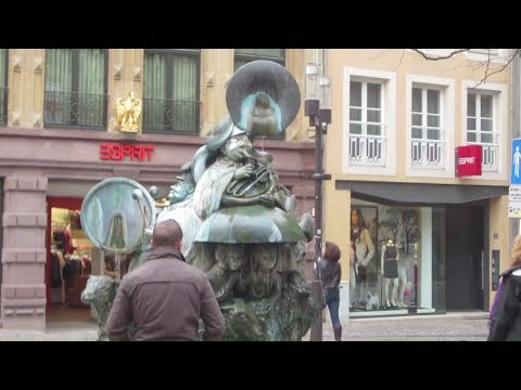 VISITING LUXEMBOURG CITY, LUXEMBOURG OVERSEAS TRAVEL VISIT - April 27, 2013 - usaaffamily vlog