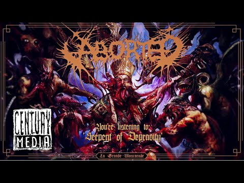 ABORTED - Serpent of Depravity (Visualizer)