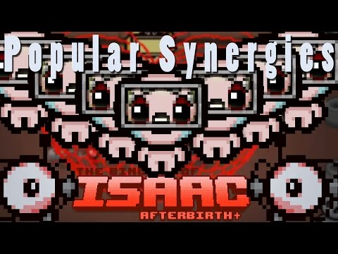 The Binding of Isaac Afterbirth Plus | Laser Ring Redux | Popular Synergies!