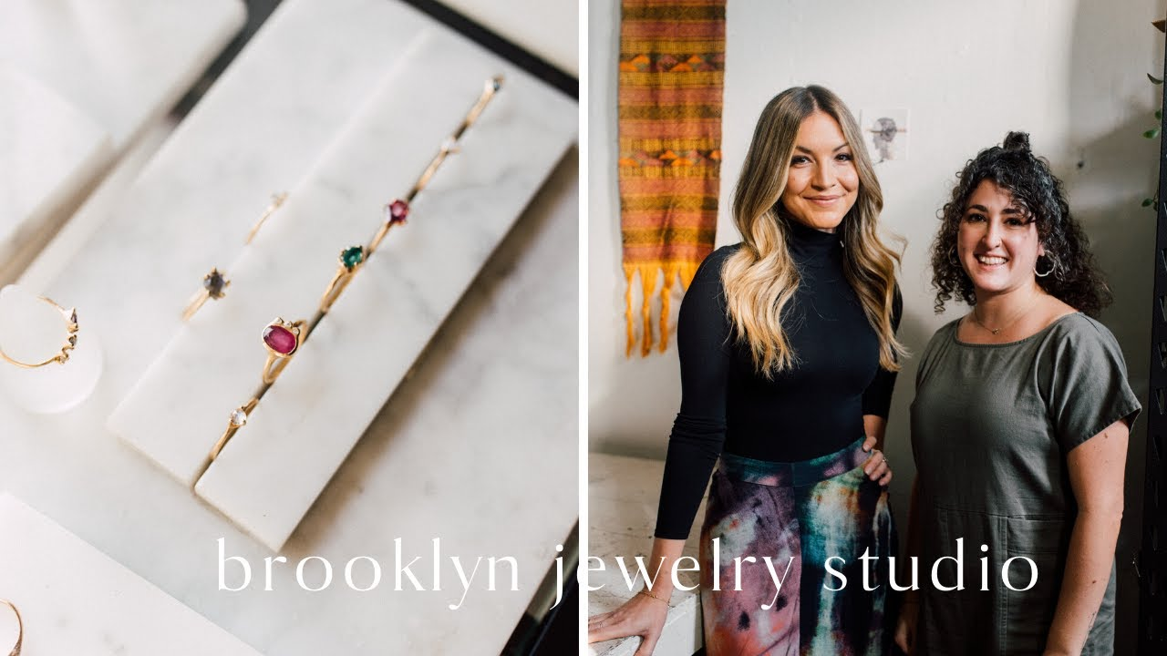 STUDIO TOUR | Starting A (Meaningful) Jewelry Line