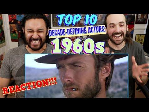TOP 10 Decade Defining ACTORS: 1960s - REACTION!!!