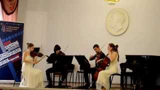 "Haydn - String Quartet in D minor, Op.76, No.2 ""Quinten"" (4 part)"